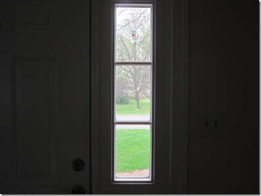 I Finally Put Privacy Film On The Sidelight Windows Of Our Front Door.    Charm U0026 Whimsy