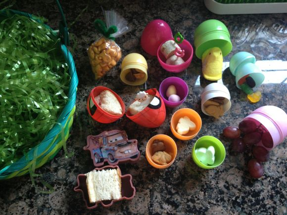 Easter Egg Basket Lunch for The Boy